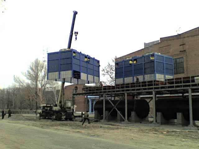 градирня БВГ 600