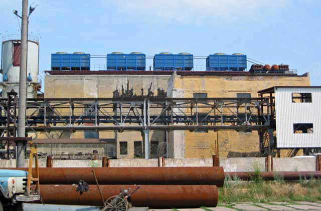 градирні цукровий завод